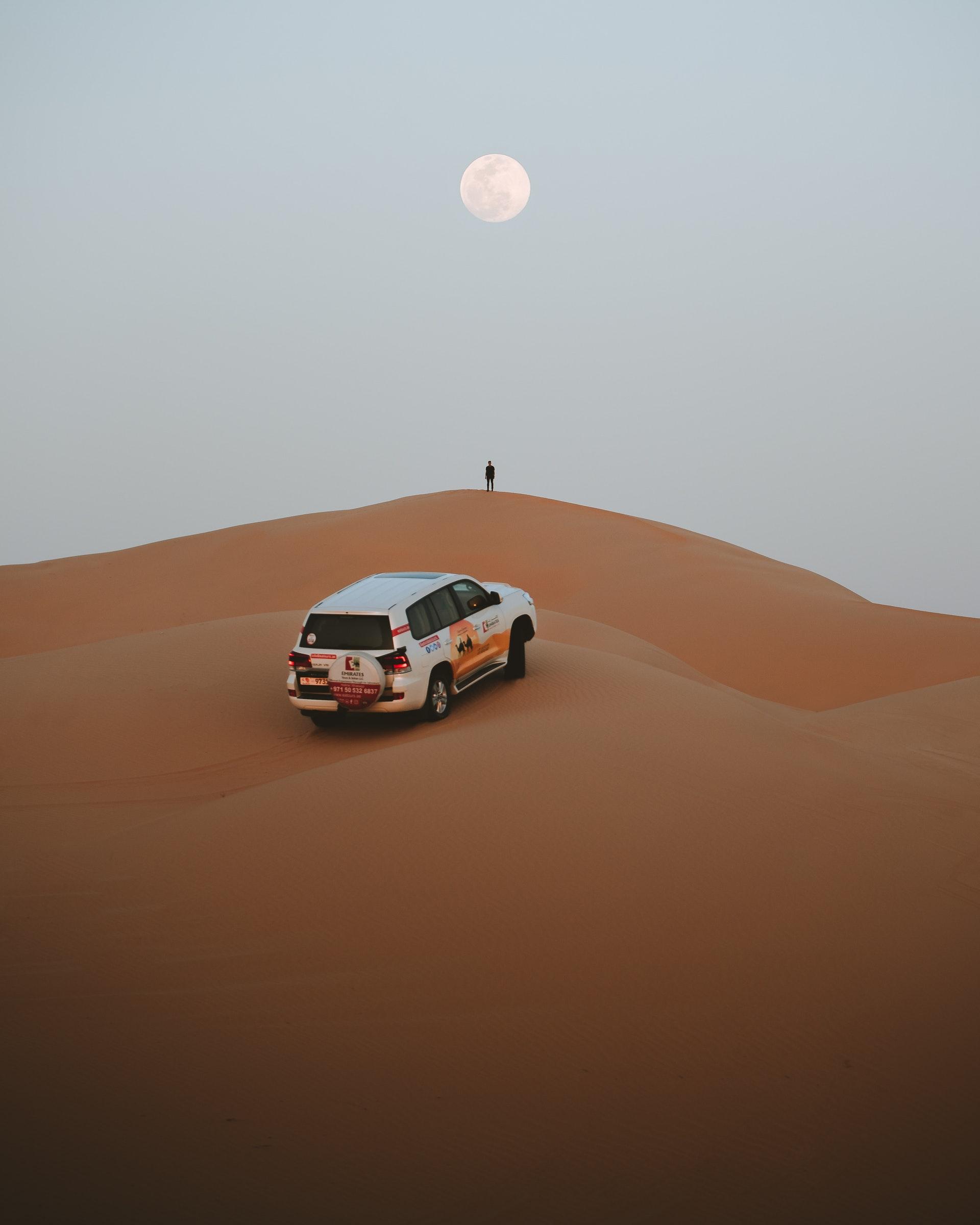 Wüste bei Abu Dhabi V.A.E.