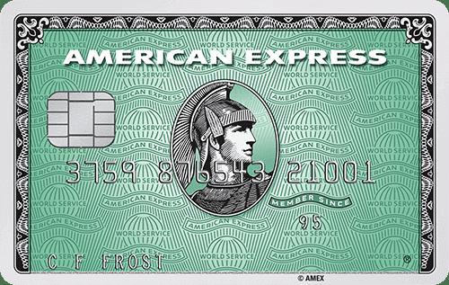 American Express Green Kreditkarte