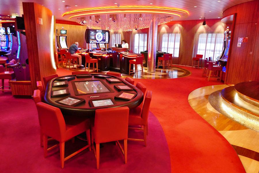 Das Casino auf AIDAperla