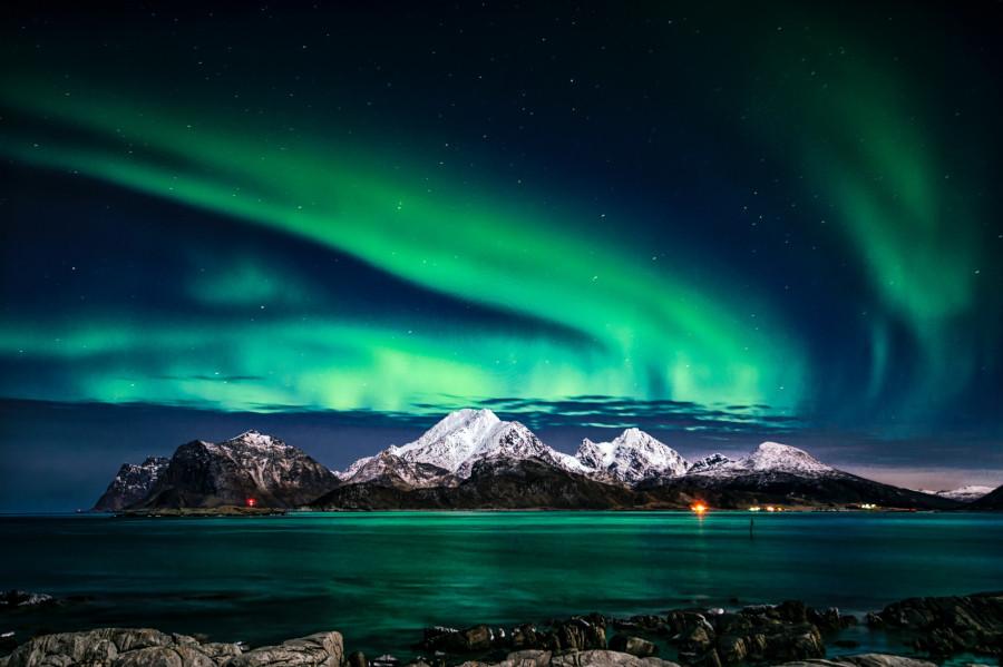 Spektakuläre Nordlichter