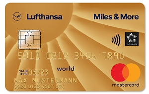Miles and More Mastercard Gold