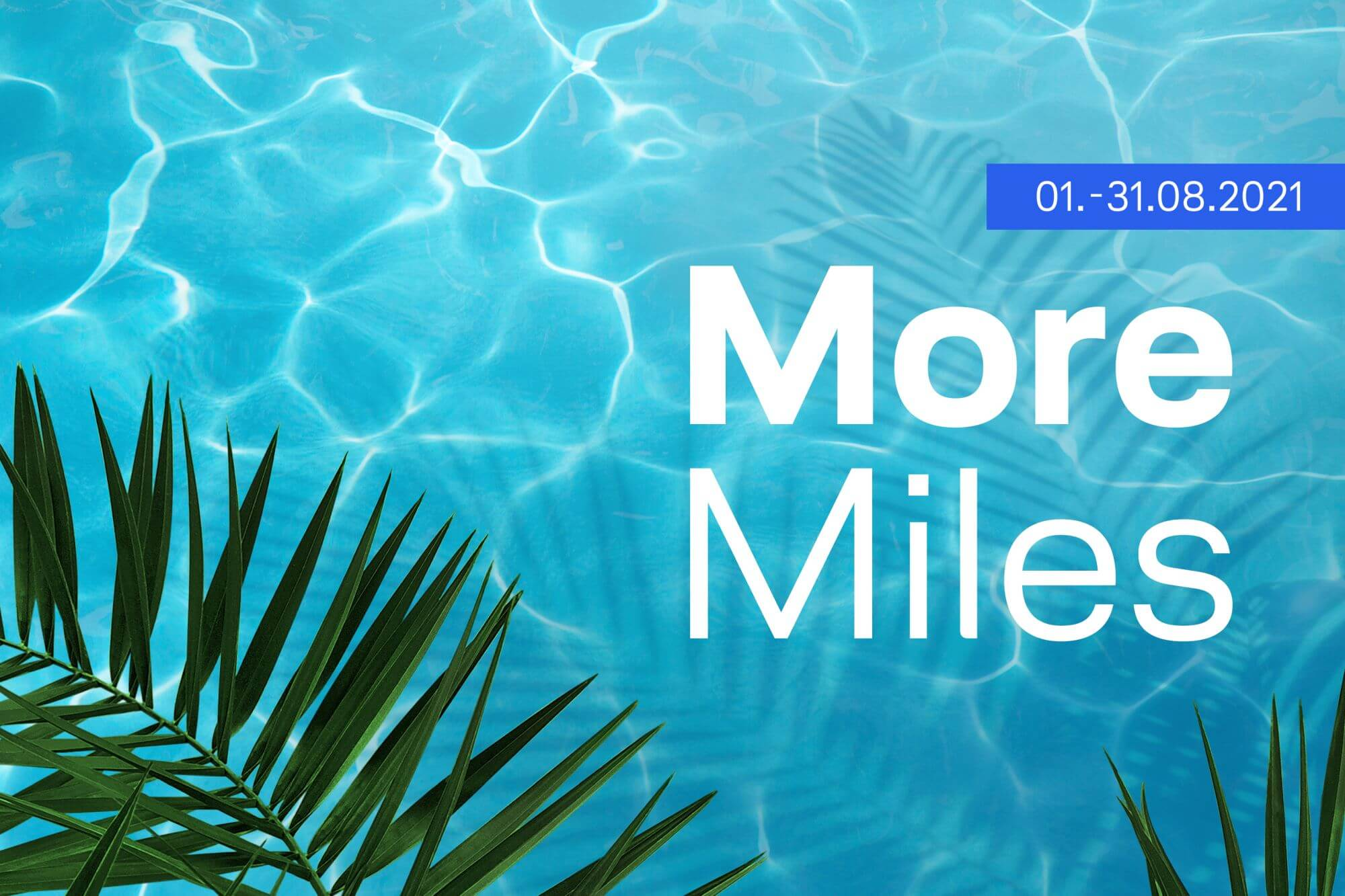 Miles and More Sommerangebote