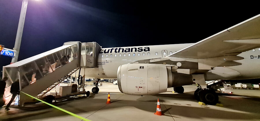 Lufthansa A319-100 Kurzstrecke