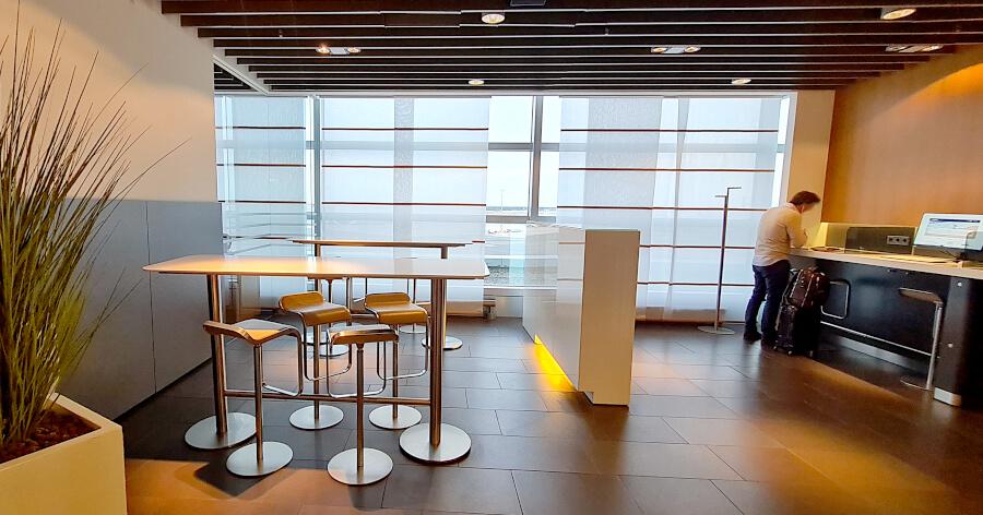 Business-Center Lufthansa Business Class Lounge A 26 in Frankfurt