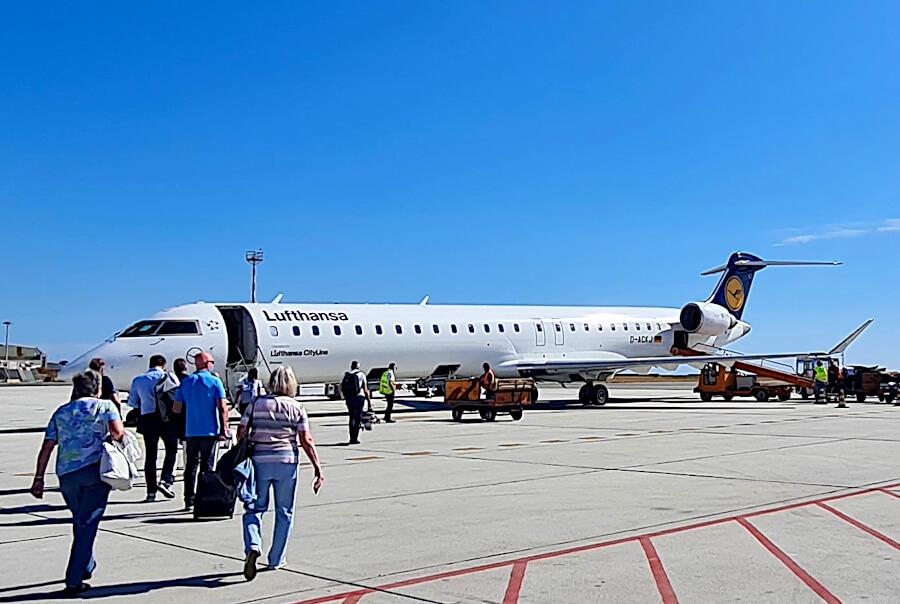 Lufthansa CityLine Bombardier CRJ900