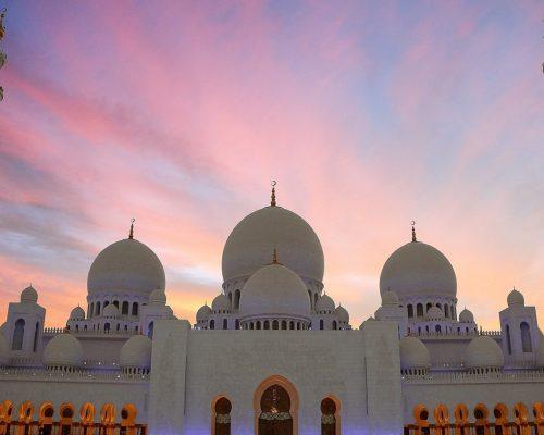Sheikh Zayed Moschee Abu Dhabi VAE