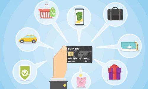 Viele Vorteile mit Kreditkarten